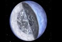 Khối kim cương khổng lồ cách Trái Đất 50 năm ánh sáng