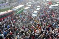 Hà Nội và TP HCM mỗi nơi cần có khoảng 30.000 xe buýt để thay thế hết được xe máy