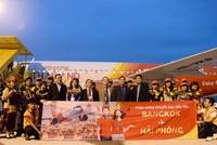 Vietjet khai trương đường bay  Hải Phòng - Bangkok (Thái Lan)