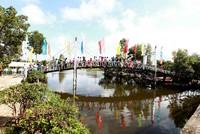 Tân Hiệp Phát khánh thành cây cầu dây văng thứ 12 tại Đồng bằng sông Cửu Long