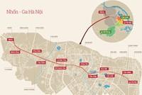 Đường sắt đô thị Nhổn - ga Hà Nội: đội giá gấp đôi, chưa hạng mục nào hoàn thành