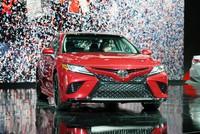 Toyota Camry 2018 trình làng, chưa có giá bán