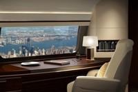 Máy bay có cửa sổ lớn cho du khách ngắm cảnh