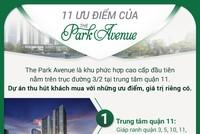 11 ưu điểm vượt trội của The Park Avenue, căn hộ trung tâm quận 11