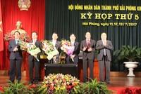 Thành phố Hải Phòng có 2 Phó Chủ tịch mới