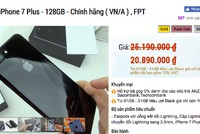 Giá iPhone ở Việt Nam đồng loạt giảm sâu