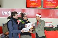 Mở hộp quà khổng lồ, đón Giáng sinh và năm mới an lành cùng Vietjet