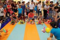 Manulife Việt Nam tài trợ cho Ngày hội trẻ em và gia đình