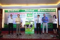 NutiFood hợp tác với HAGL phát triển nguyên liệu sữa đậu nành