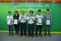 DPM trao gần 350 suất học bổng Đạm Phú Mỹ 2015-2016