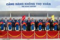 Khánh thành Khu hàng không dân dụng Cảng hàng không Thọ Xuân Thanh Hóa