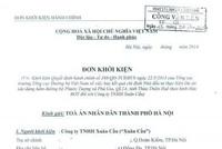 Đâu là lý do khiến Xuân Cầu kiện Tổng cục Đường bộ Việt Nam?