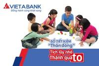 VietABank triển khai sản phẩm tiết kiệm Thần Đồng