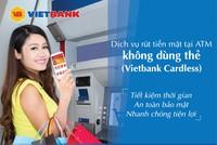 Rút tiền mặt tại ATM không cần thẻ