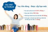 VietBank cho vay theo hạn mức tín dụng tiêu dùng