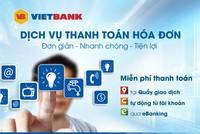 Đa tiện ích từ dịch vụ thanh toán hóa đơn tại VietBank