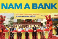Nam A Bank Gò Vấp khai trương trụ sở mới