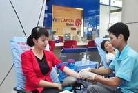 Cán bộ nhân viên Viet Capital Bank hiến máu vì cộng đồng
