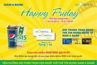 Nam A Bank gia tăng tiện ích cho chủ thẻ tín dụng quốc tế