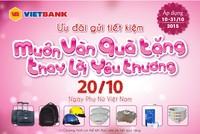 VietBank khuến mãi mừng ngày 20/10