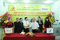 HDBank tài trợ vốn cho Saigonres thực hiện các dự án bất động sản