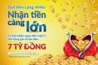 Nam A Bank khuyến mãi cho khách hàng gửi tiết kiệm