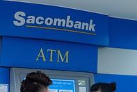 Sacombank tiếp nhận giao dịch ngay trên máy ATM
