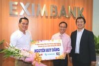 Eximbank trao thưởng chủ thẻ Jetstar-Eximbank JCB đạt giải tiêu dùng