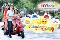 Gửi tiết kiệm HDBank được tăng mũ bảo hiểm cho bé