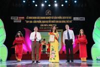 Nam A Bank vào Top 100 doanh nghiệp có sản phẩm tốt nhất cho gia đình và trẻ em