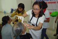 HDBank tài trợ phẫu thuật mắt cho các bệnh nhân nghèo