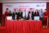 HDBank và Meed ký hợp tác về sản phẩm dịch vụ tài khoản thanh toán toàn cầu