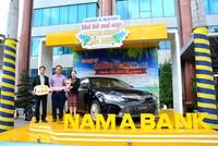 Nam A Bank trao xe toyota Camry 2.5G cho khách hàng trúng giải