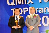 Nam A Bank nhận 2 giải thưởng quốc tế Top Brand 2016 và QMix 100-2016