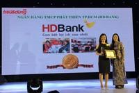 HDBank - Ngân hàng uy tín và có chất lượng dịch vụ tốt nhất năm 2016