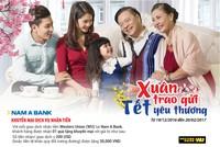 Nam A Bank khuyến mãi khách hàng nhận kiều hối dịp Tết Đinh Dậu