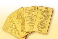 Vàng trong nước liên tục giảm