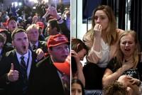 Cận cảnh 2 sắc thái tại bữa tiệc hậu bầu cử tổng thống Mỹ
