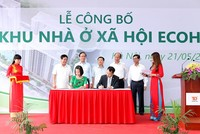Ra mắt dự án nhà xã hội 980 căn hộ tại Hà Nội