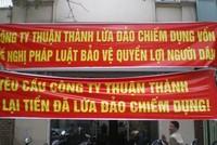 CTCP Đầu tư bất động sản Thuận Thành: Huy động vốn để… chiếm dụng