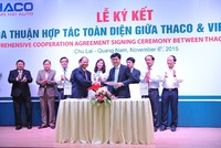 Vietcombank và Thaco ký hợp đồng khung tín dụng trị giá 4.500 tỷ đồng