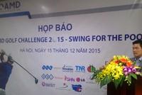 Khởi tranh giải golf vì người nghèo tại FLC Sầm Sơn