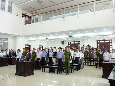 Y án sơ thẩm, ông Đinh La Thăng lĩnh 13 năm tù giam