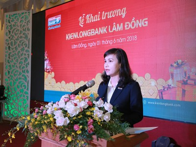Kienlongbank khai trương chi nhánh đầu tiên tại tỉnh Lâm Đồng