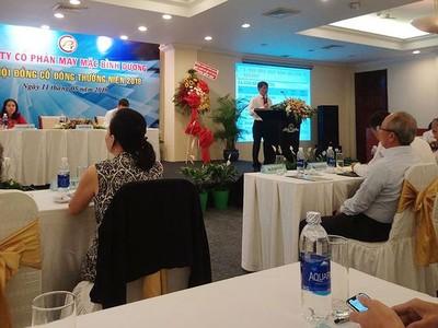 Đại hội đồng cổ đông May mặc Bình Dương (BDG): Đặt kế hoạch lãi giảm 20% vì cạnh tranh gay gắt