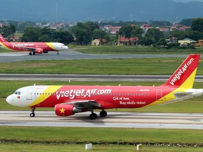 Vietjet mở đường bay Hà Nội - Đồng Hới (Quảng Bình)