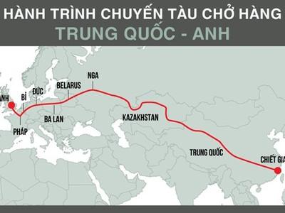 Trung Quốc mở lại 'Con đường tơ lụa' bằng xe lửa đến châu Âu
