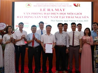 Ra mắt Văn phòng Hội Môi giới bất động sản Việt Nam tại  Khu vực Đông Bắc