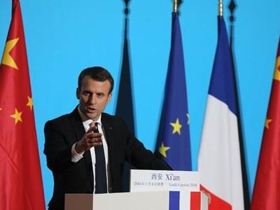 Tổng thống Pháp Macron: Con đường Tơ lụa mới không thể là đường một chiều