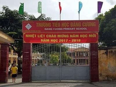 Bắt tạm giam nguyên hiệu trưởng trường tiểu học ở Hải Phòng
